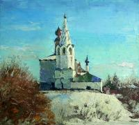 Rudnik Suzdal. Kosmodemyanskaya the Church Городской пейзаж